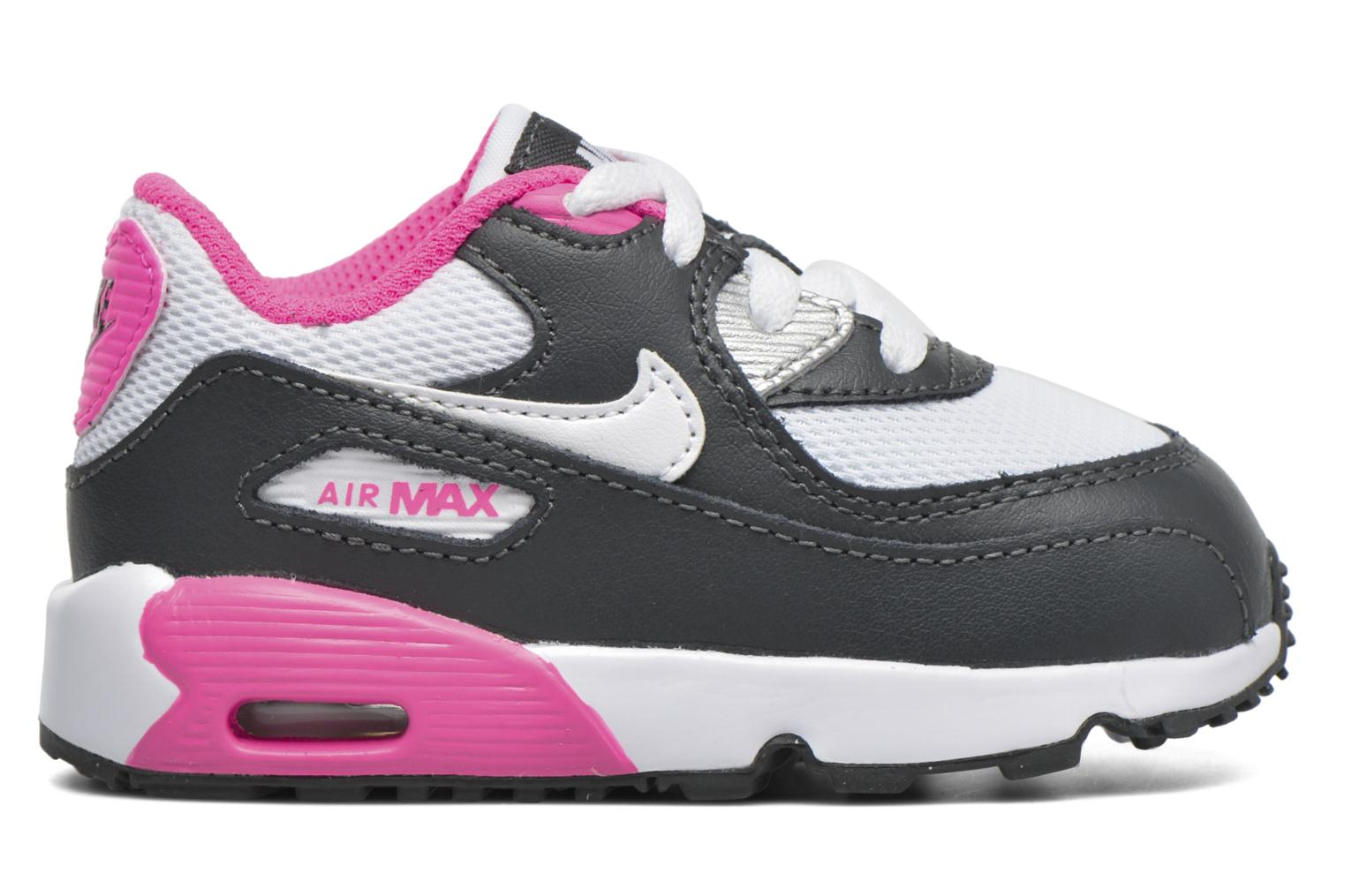 Trainers Nike NIKE AIR MAX 90 MESH (TD) Pink back view