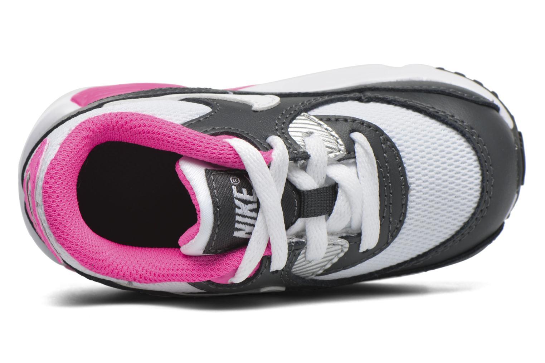 NIKE AIR MAX 90 MESH (TD) Anthracite White-Hyper Pink
