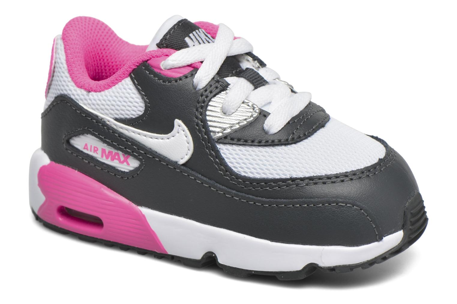 Trainers Nike NIKE AIR MAX 90 MESH (TD) Pink detailed view/ Pair view