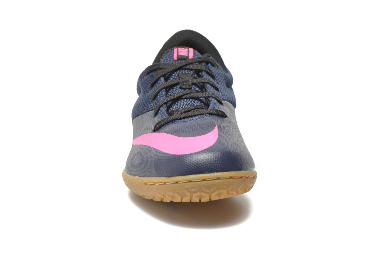 Baskets Nike Jr Mercurialx Pro Ic Bleu vue portées chaussures