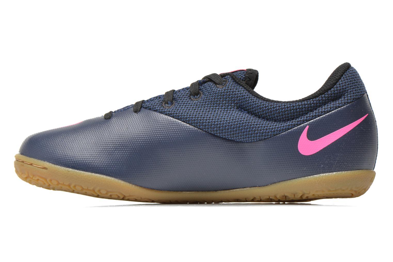 Baskets Nike Jr Mercurialx Pro Ic Bleu vue face