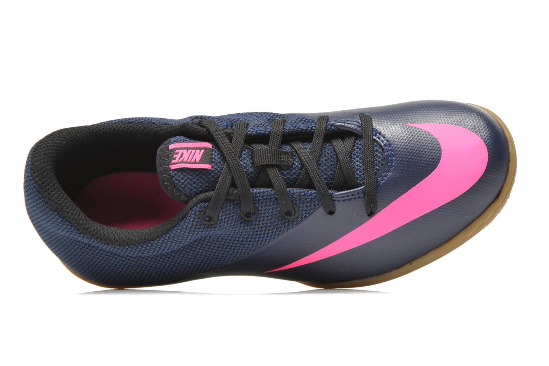 Sneaker Nike Jr Mercurialx Pro Ic blau ansicht von links