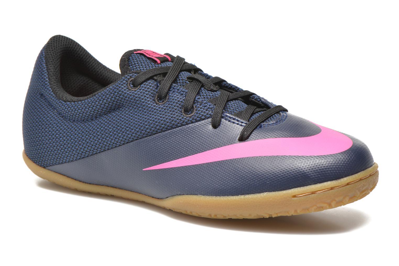 Baskets Nike Jr Mercurialx Pro Ic Bleu vue détail/paire