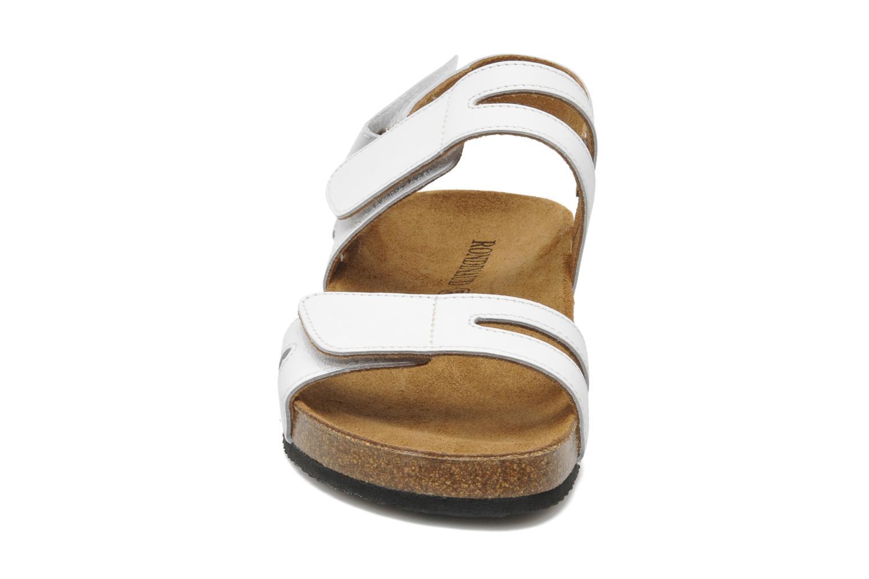 Sandales et nu-pieds Rondinaud Kolyma Blanc vue portées chaussures