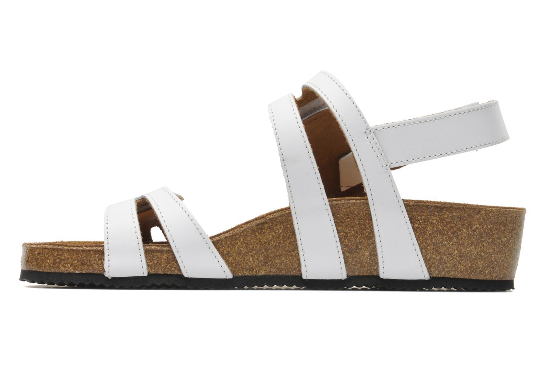 Sandales et nu-pieds Rondinaud Kolyma Blanc vue face