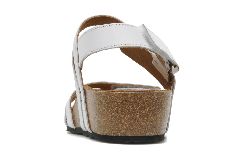 Sandales et nu-pieds Rondinaud Kolyma Blanc vue droite