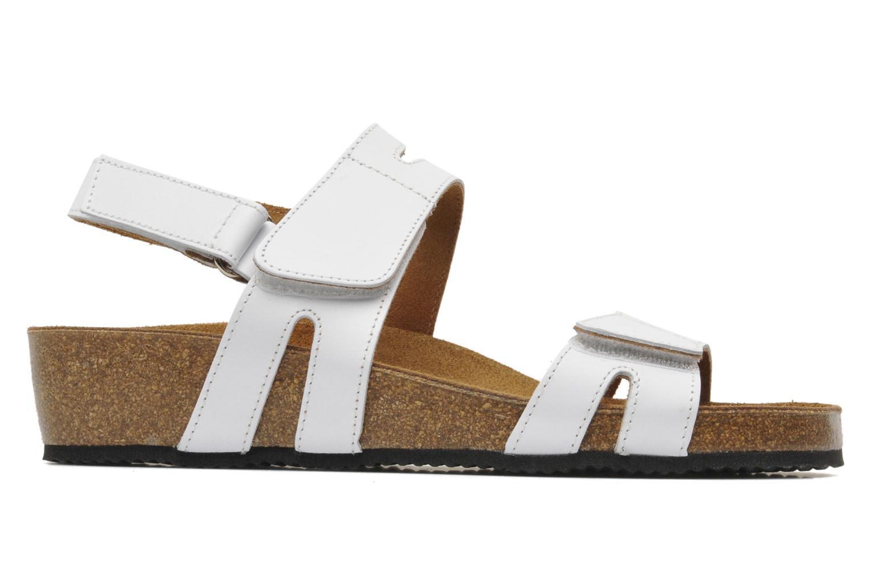 Sandales et nu-pieds Rondinaud Kolyma Blanc vue derrière