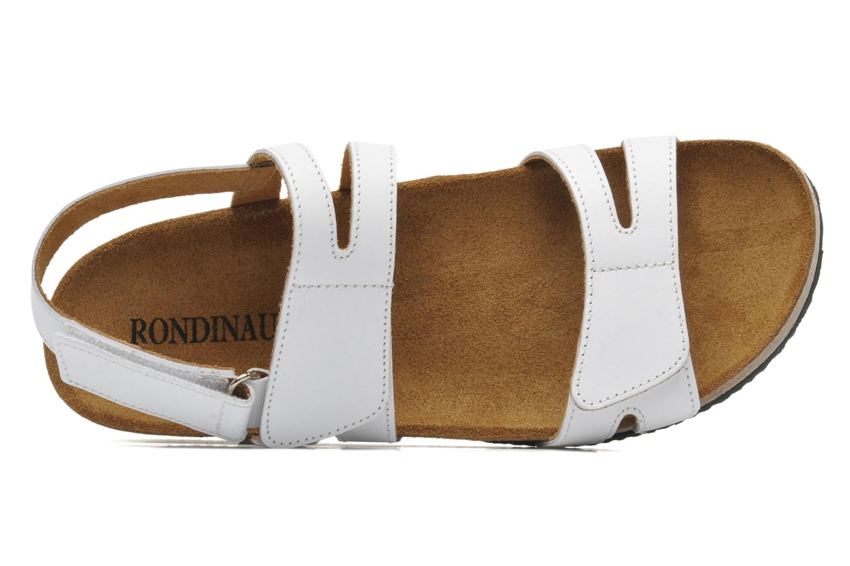 Sandales et nu-pieds Rondinaud Kolyma Blanc vue gauche