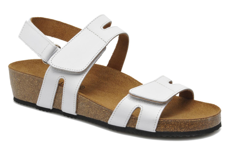Sandales et nu-pieds Rondinaud Kolyma Blanc vue détail/paire