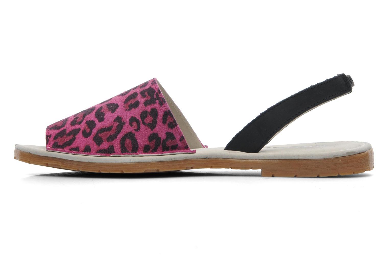 Sandales et nu-pieds Bronx New Maiko Rose vue face