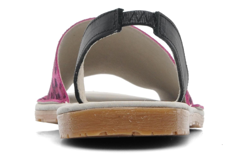 Sandales et nu-pieds Bronx New Maiko Rose vue droite