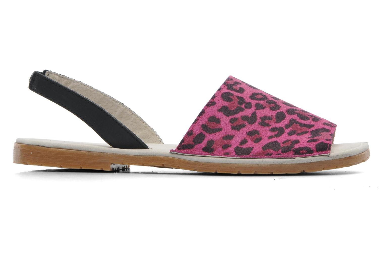 Sandales et nu-pieds Bronx New Maiko Rose vue derrière