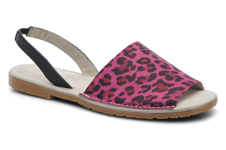 Sandales et nu-pieds Bronx New Maiko Rose vue détail/paire