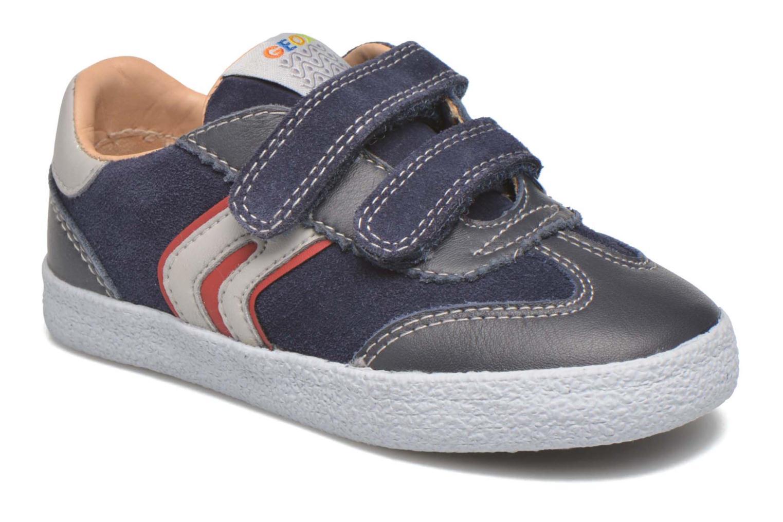 Sneaker Geox B KIWI B. C - SCAM.+TELA blau detaillierte ansicht/modell