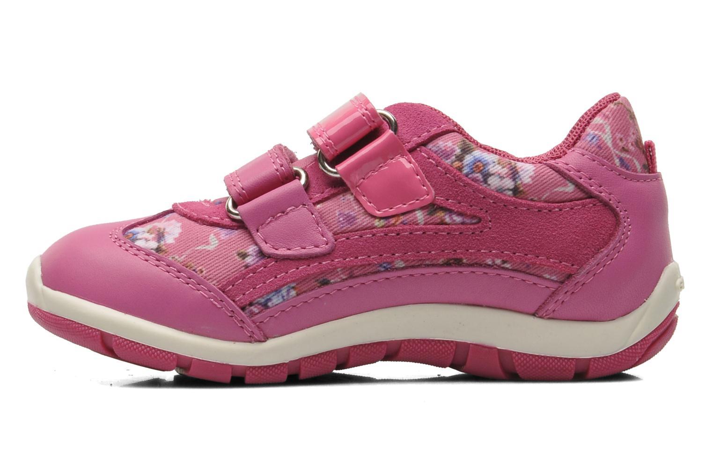 Sneakers Geox B SHAAX G. B - TELA+VIT.LISCIO Roze voorkant