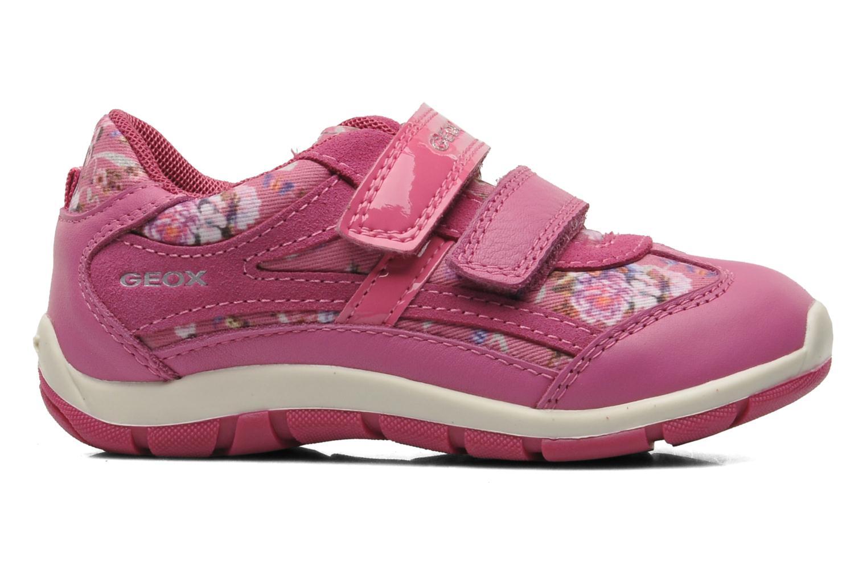 Sneakers Geox B SHAAX G. B - TELA+VIT.LISCIO Roze achterkant