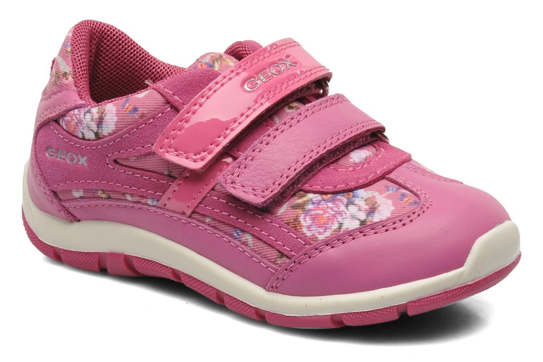 Sneakers Geox B SHAAX G. B - TELA+VIT.LISCIO Roze detail