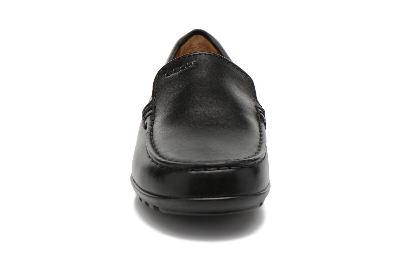Mocassins Geox J FAST A J11G5A Noir vue portées chaussures