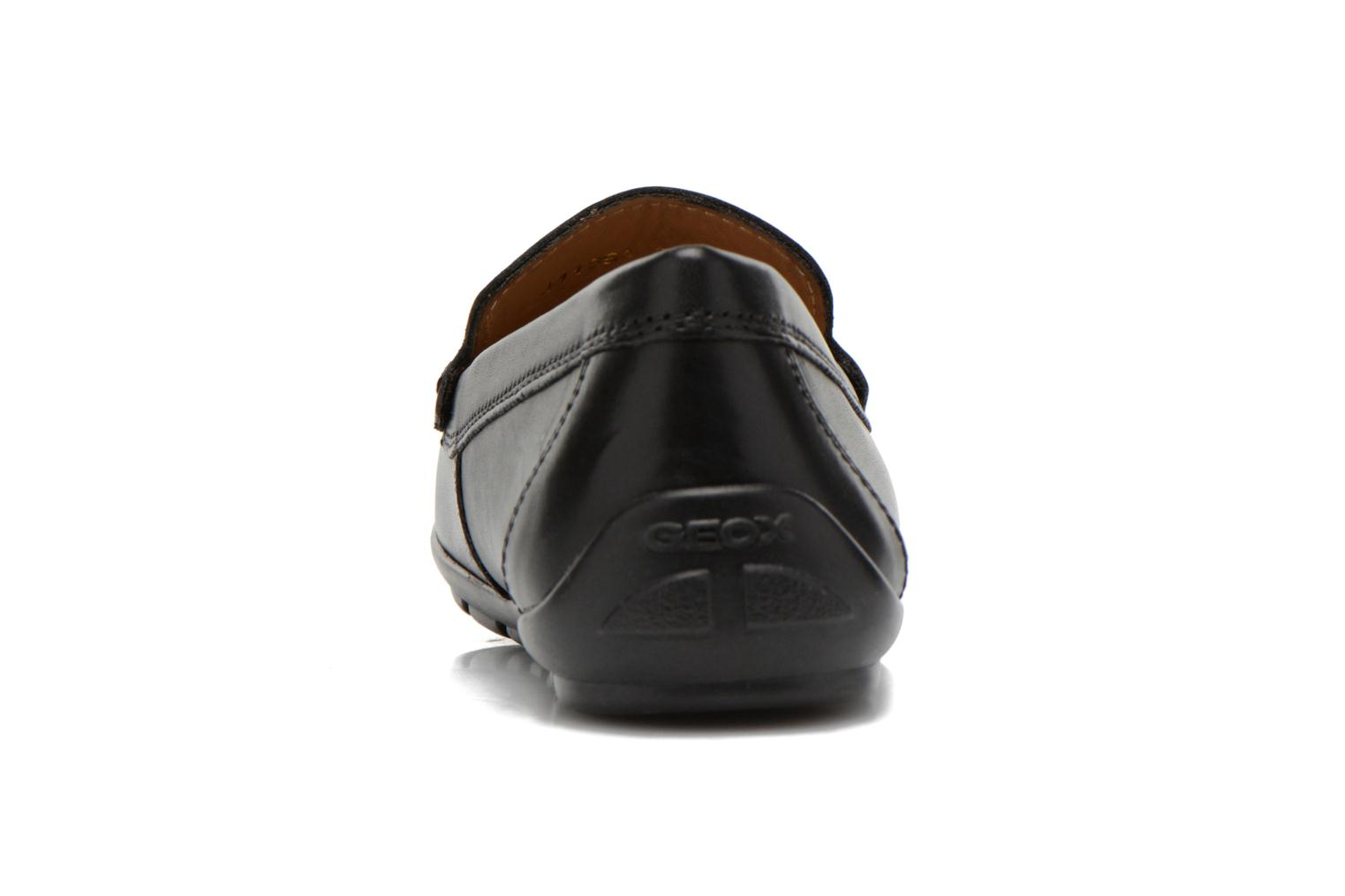 Loafers Geox J FAST A J11G5A Black view from the right