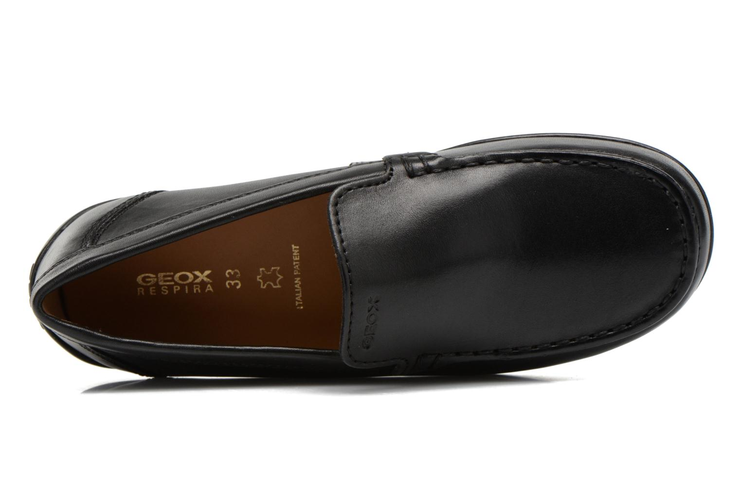 Loafers Geox J FAST A J11G5A Black view from the left