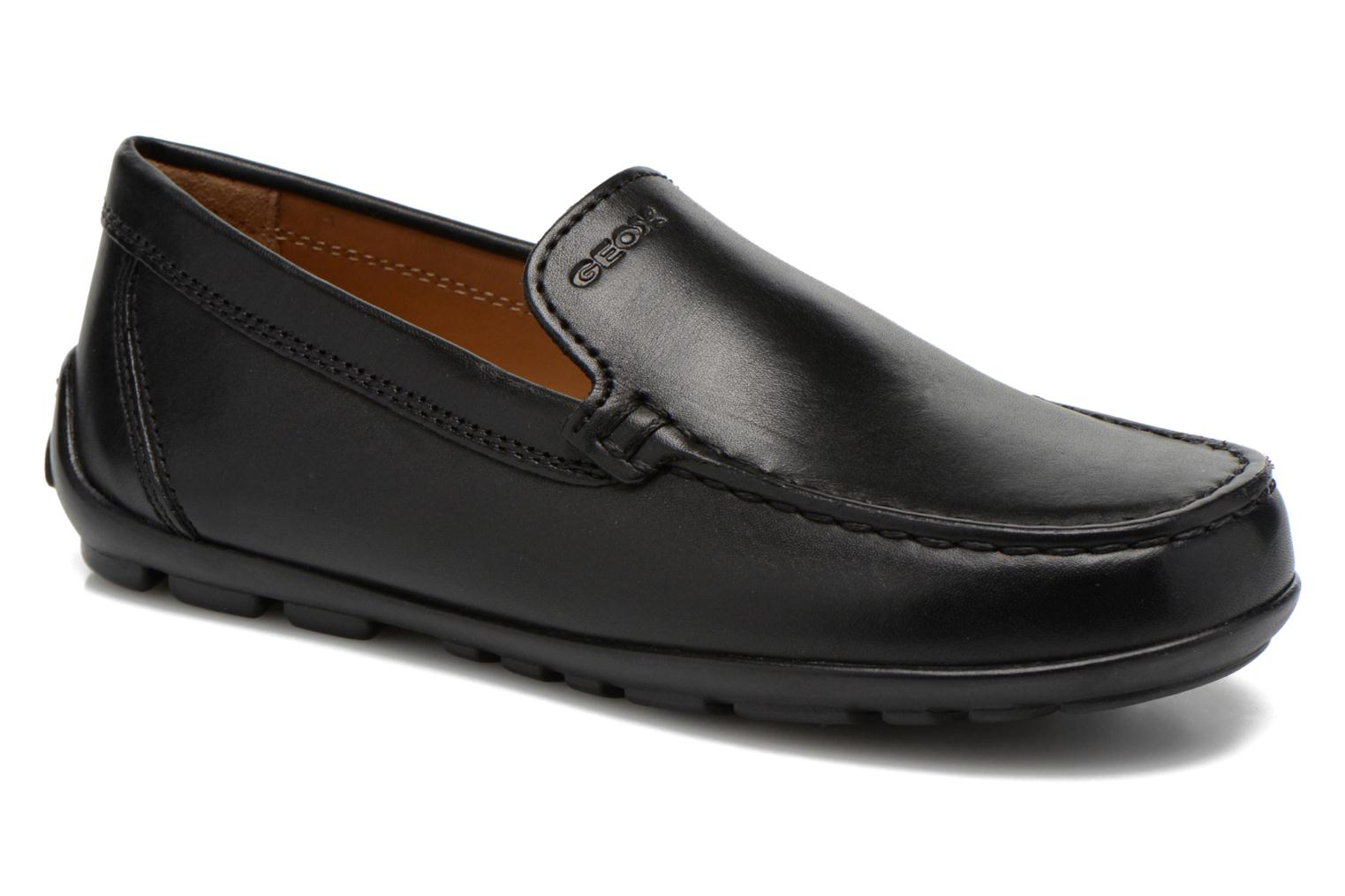 Loafers Geox J FAST A J11G5A Black detailed view/ Pair view