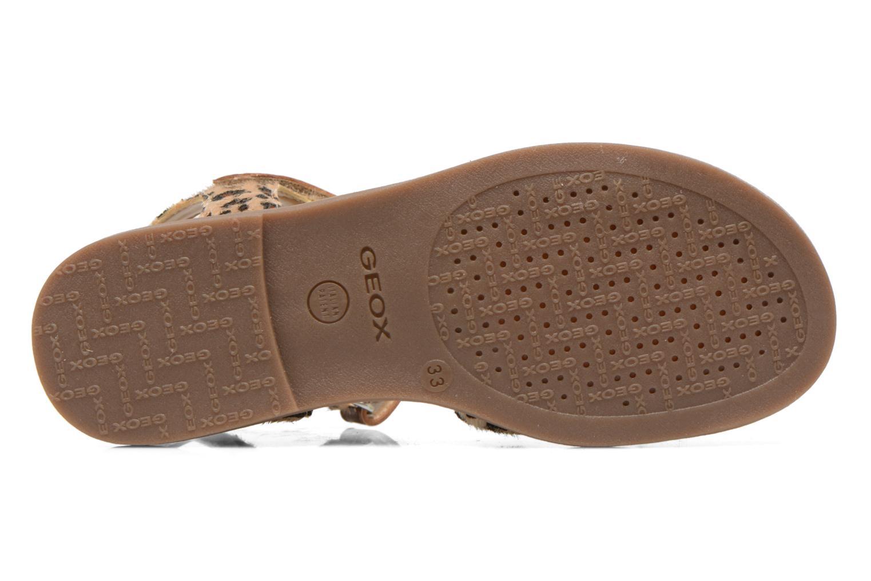 Sandales et nu-pieds Geox J S.Karly G.D  J5235D Marron vue haut