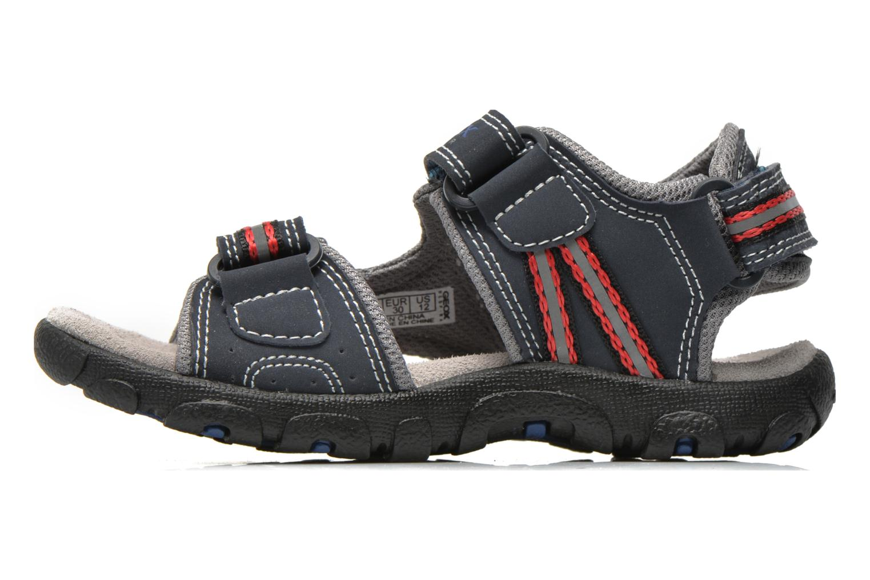 Sandales et nu-pieds Geox J S.STRADA A J4224A Bleu vue face