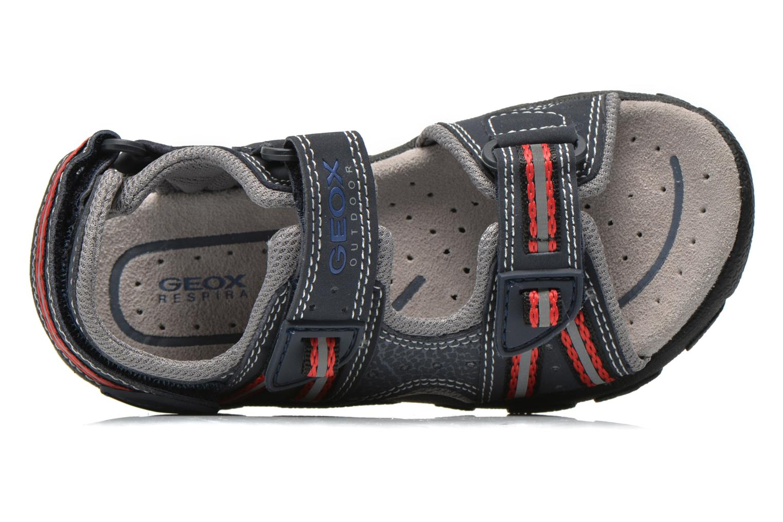 Sandales et nu-pieds Geox J S.STRADA A J4224A Bleu vue gauche