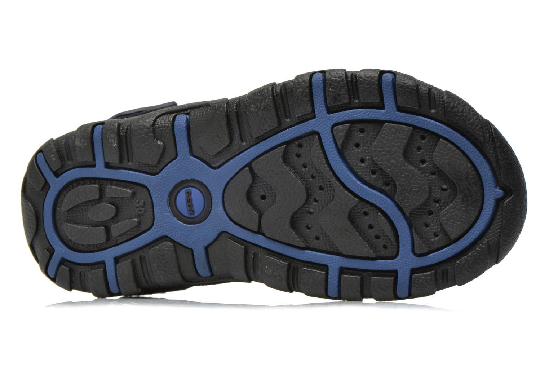 Sandales et nu-pieds Geox J S.STRADA A J4224A Bleu vue haut