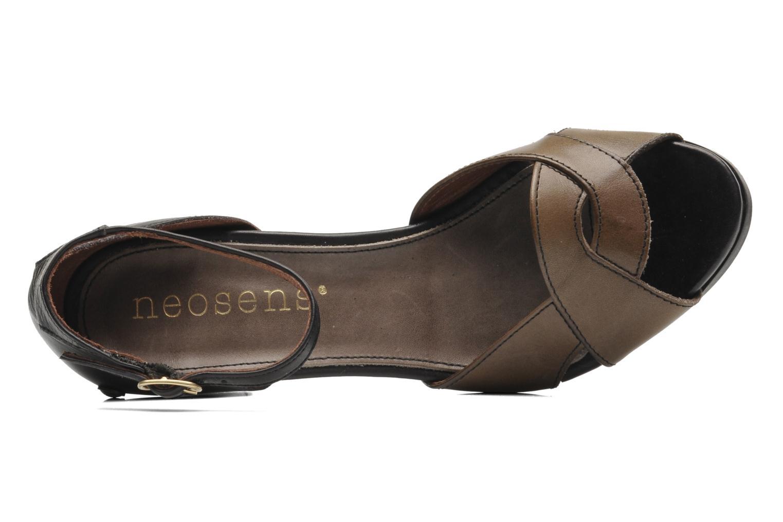 Sandali e scarpe aperte Neosens Moll 487 Marrone immagine sinistra