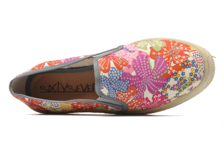 Espadrilles Sixty Seven Leah Multicolore vue gauche