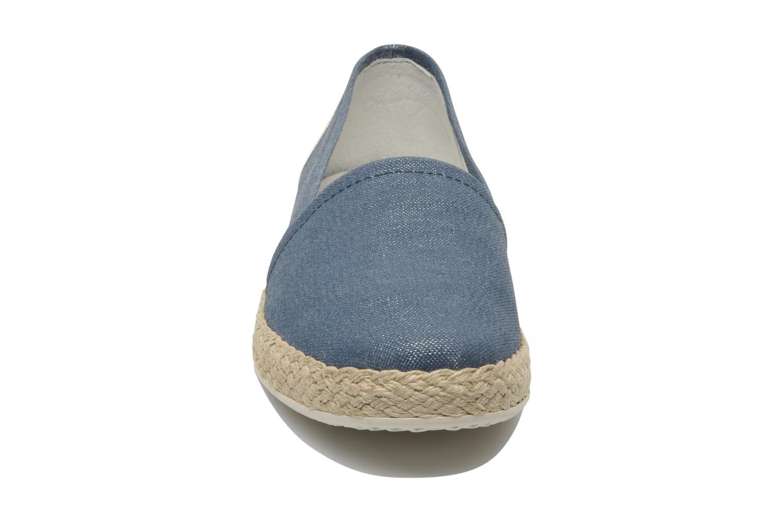 Espadrilles Geox D MODESTY B-D5229B Bleu vue portées chaussures