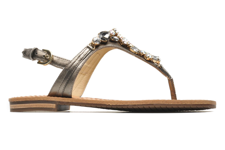 Sandales et nu-pieds Geox D JOLANDA L-D5275L Gris vue derrière