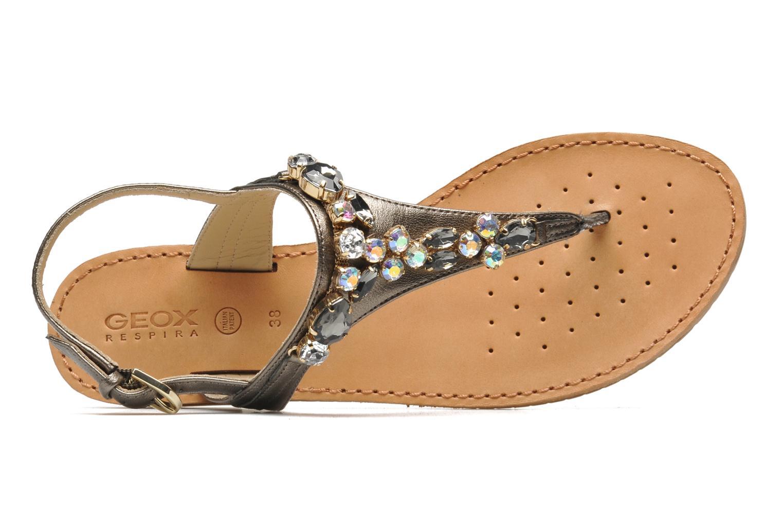 Sandales et nu-pieds Geox D JOLANDA L-D5275L Gris vue gauche