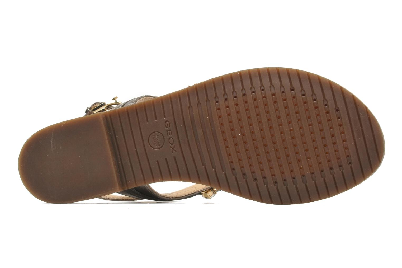 Sandales et nu-pieds Geox D JOLANDA L-D5275L Gris vue haut
