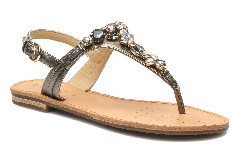 Sandales et nu-pieds Geox D JOLANDA L-D5275L Gris vue détail/paire