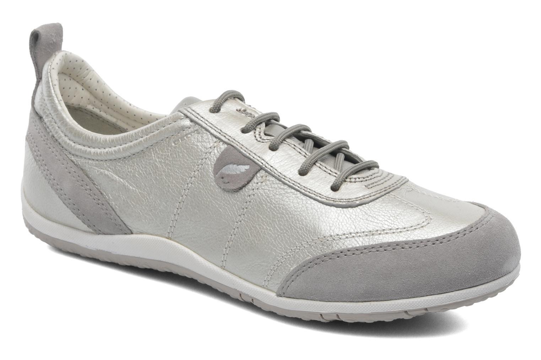 Sneaker Geox D VEGA A D3209A beige detaillierte ansicht/modell