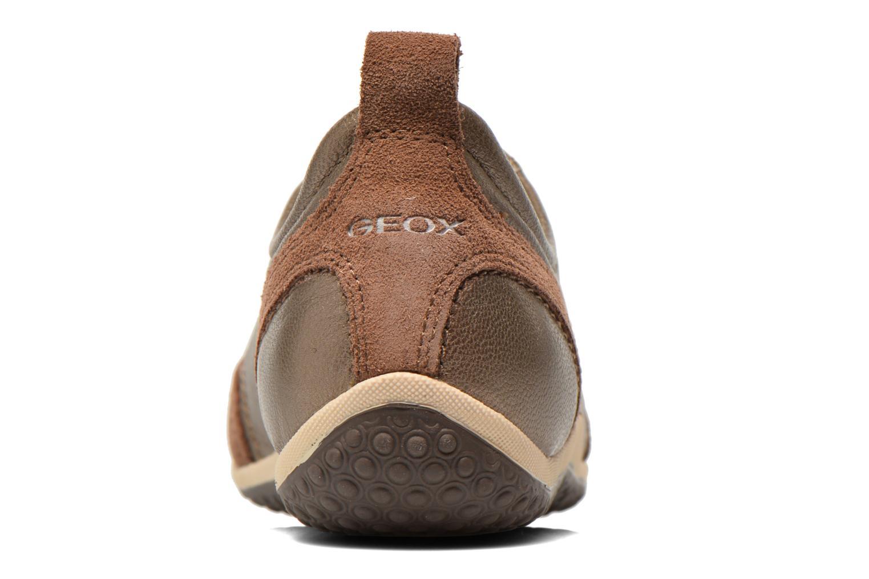 Sneaker Geox D VEGA A D3209A gold/bronze ansicht von rechts