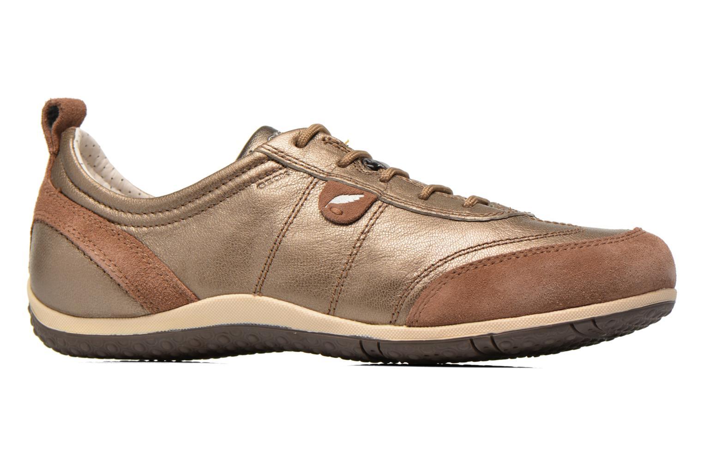 Sneaker Geox D VEGA A D3209A gold/bronze ansicht von hinten