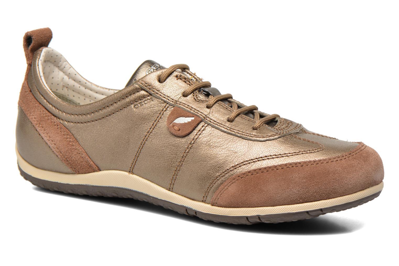 Sneakers Geox D VEGA A D3209A Goud en brons detail
