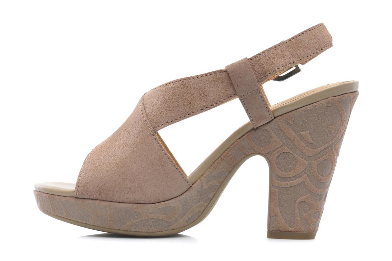 Sandales et nu-pieds Geox D NURIT A D5271A Beige vue face