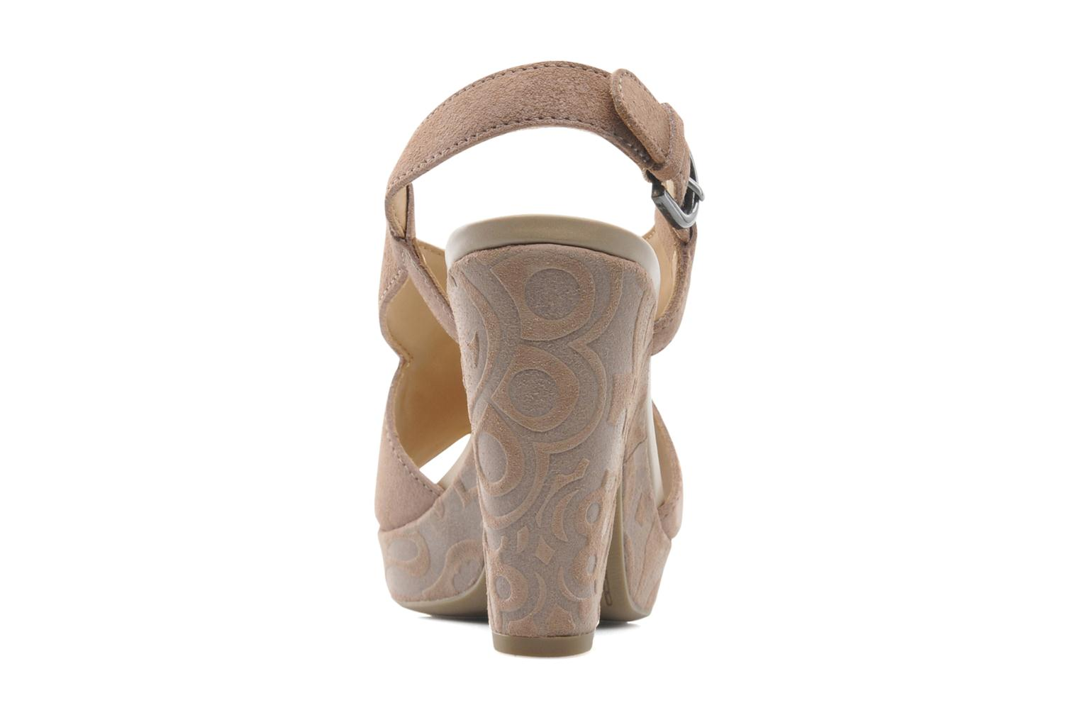 Sandals Geox D NURIT A D5271A Beige view from the right