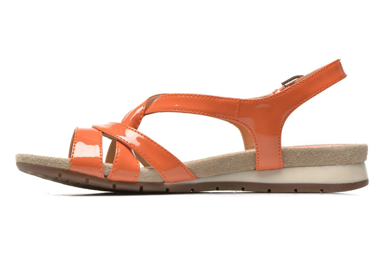 Sandalen Geox D FORMOSA B D5293B Oranje voorkant
