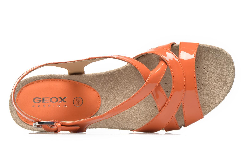 Sandalen Geox D FORMOSA B D5293B Oranje links