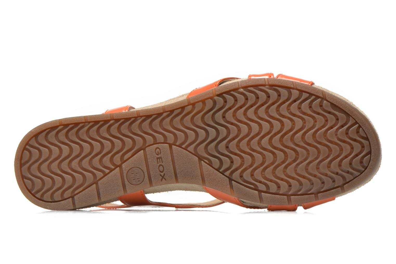 Sandalen Geox D FORMOSA B D5293B Oranje boven