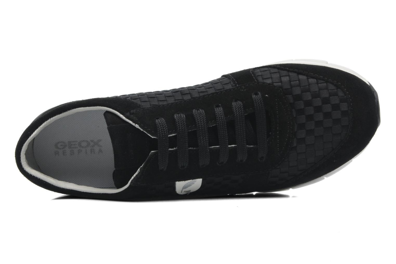 Baskets Geox D SUKIE A D52F2A Noir vue gauche