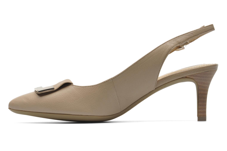 Zapatos de tacón Geox D ELINA D D52P8D Beige vista de frente