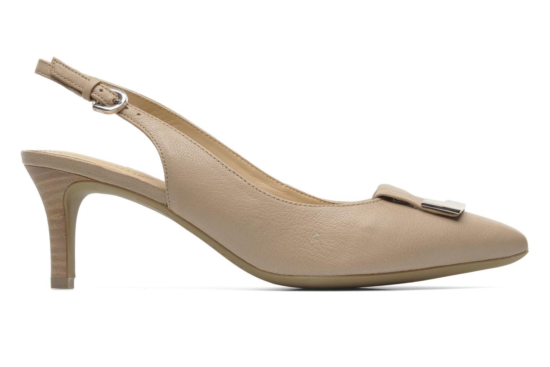 Zapatos de tacón Geox D ELINA D D52P8D Beige vistra trasera