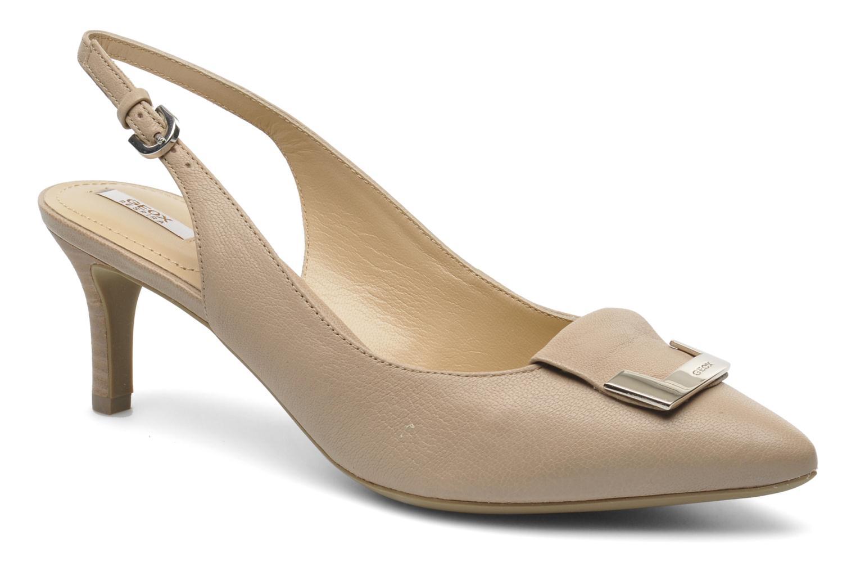Zapatos de tacón Geox D ELINA D D52P8D Beige vista de detalle / par