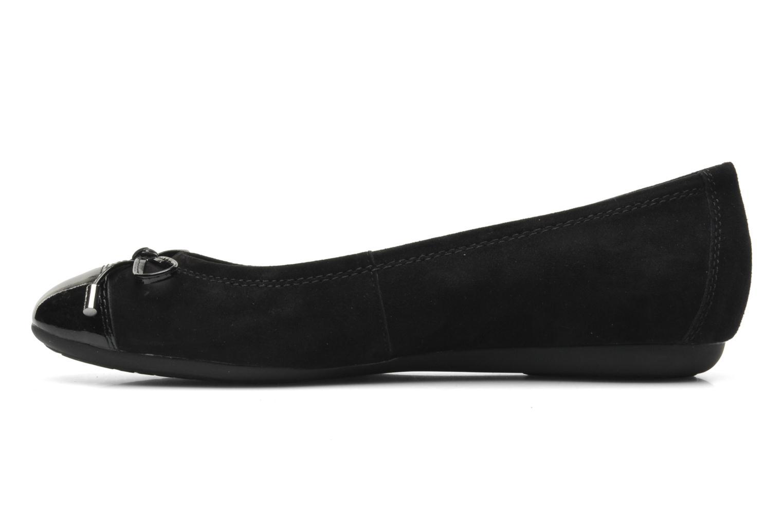 Ballerina's Geox D LOLA A D93M4A Zwart voorkant
